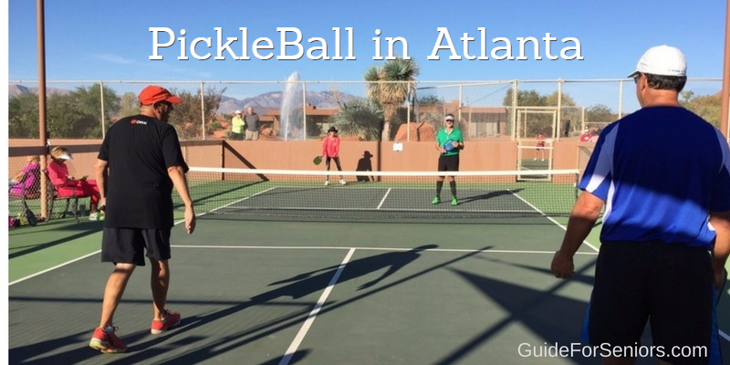 Pickleball? In Atlanta?