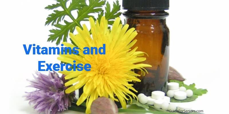 Benefits for Bone Health: Vitamins and Exercise