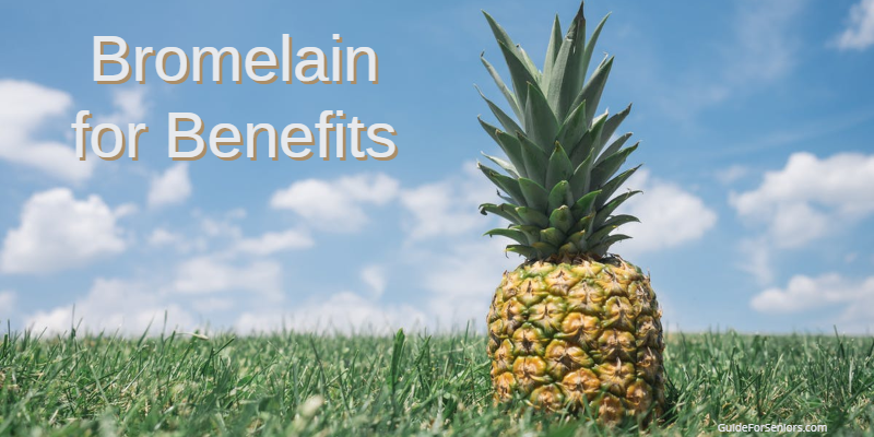image of a pineapple which contains the enzyme bromelain